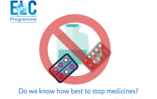 How Do We Stop Medicines Well?