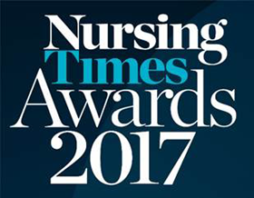 Nursing Times Awards 2017 logo